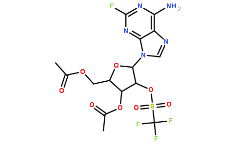 3',5'-二-O-乙酰基-2-氟-2'-O-(三氟甲基磺酰基)腺苷
