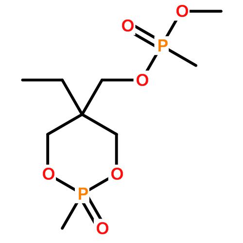 甲基膦酸 (5-乙基-2-甲基-2-氧代-1,3,2-二氧磷杂环己-5-基)甲基甲基酯