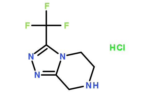 3-三氟甲基-5,6,7,8-四氢-1,2,4-三唑并[4,3-a]吡嗪盐酸盐
