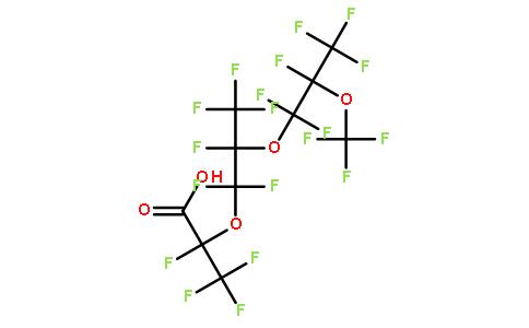 2,3,3,3-四氟-2-(1,1,2,3,3,3-六氟-2-(1,1,2,3,3,3-六氟-2-(三氟甲氧基)丙氧基)丙氧基)丙酸
