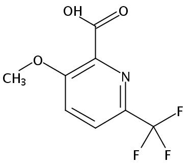 3-甲氧基-6-三氟甲基吡啶-2-羧酸