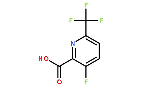 3-氟-6-三氟甲基吡啶-2-羧酸