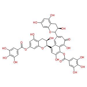 茶黃素-3,3'-雙沒食子酸