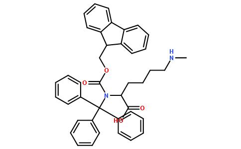 Fmoc-N'-甲基三苯甲基-L-赖氨酸
