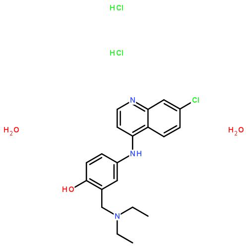 氨酚喹 二盐酸盐 二水合物