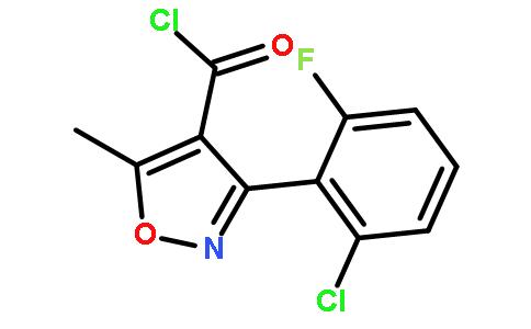 3-(2-氯-6-氟苯基)-5-甲基异唑-4-羰基氯
