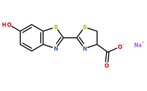 (S)-4,5-二氢-2-(6-羟基苯并噻唑-2-基)噻唑-4-甲酸钠盐