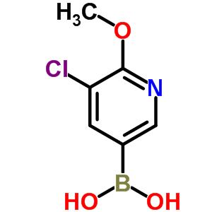 3-氯-2-甲氧基-5-吡啶硼酸