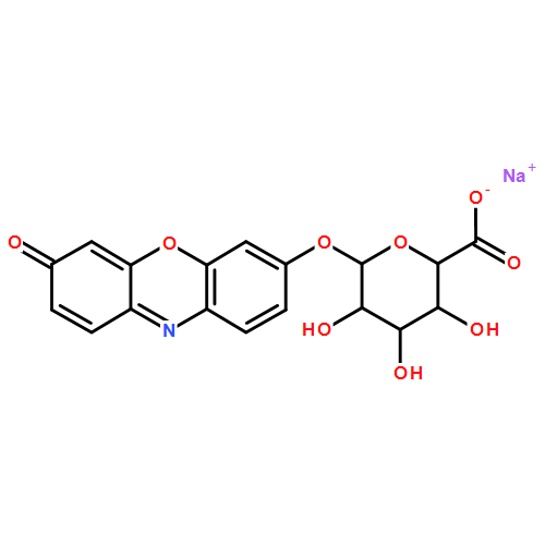 吩噁嗪酮-β-D-葡萄糖醛酸钠