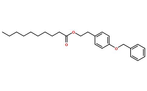 2-[4-(苯基甲氧基)苯基]癸酸乙酯