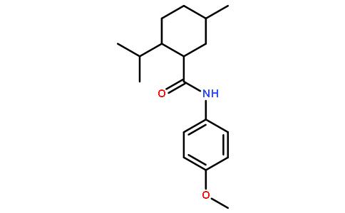 凉味剂WS-12  (N-(4-甲氧基苯基)-对薄荷基-3-羧酰胺)