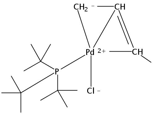 Chloro(crotyl)(tri-tert-butylphosphine)palladium(II)