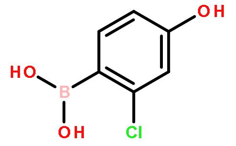 2-氯-4-羟基苯基硼酸