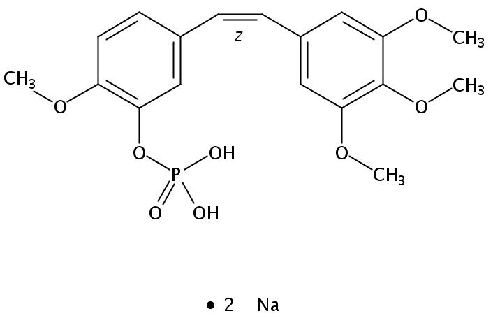 考布他丁 A-4 磷酸二钠盐