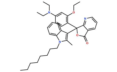 7-[4-(二乙基氨基)-2-乙氧基苯基]-7-(2-甲基-1-辛基-1H-吲哚-3-基)呋喃并[3,4-b]吡啶-5(7H)-酮