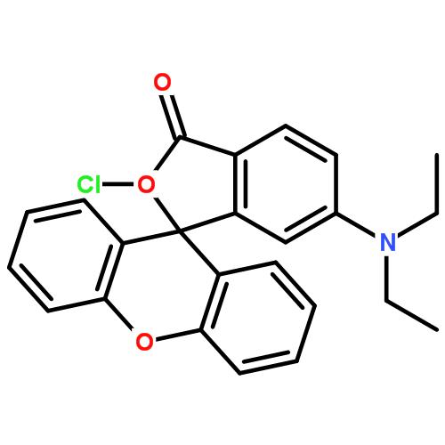 2'-氯-6'-(二乙氨基)荧烷