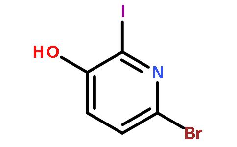 6-溴-2-碘-3-羟基吡啶