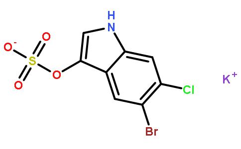 5-溴-3-吲哚基硫酸钾盐水合物