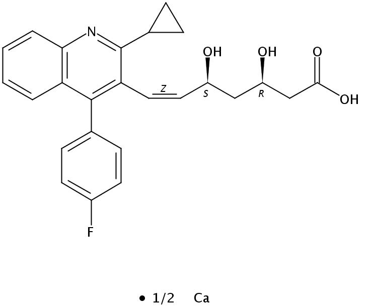 (Z)-匹伐他汀钙盐