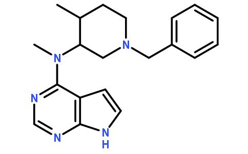 (3R,4R)-(1-苄基-4-甲基-哌啶-3-基)-甲基-(7H-吡咯并[2,3-d]嘧啶-4-基)-胺
