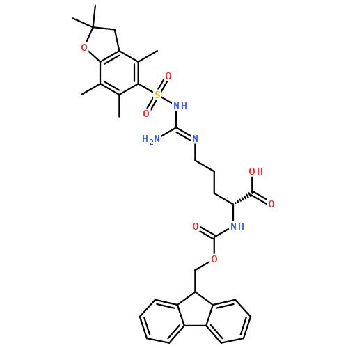 N'-[(2,3-二氢-2,2,4,6,7-五甲基苯并呋喃-5-基)磺酰基]-N-芴甲氧羰基-D-精氨酸