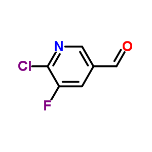 2-氯-3-氟-5-甲酰基吡啶
