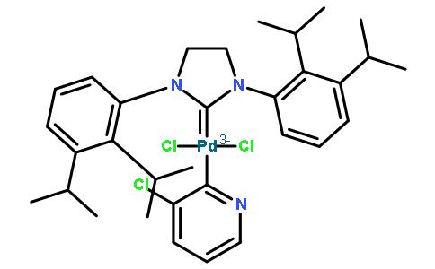 (1,3-双(2,6-二异丙基苯基)咪唑亚基)(3-氯吡啶基)二氯化钯(II)