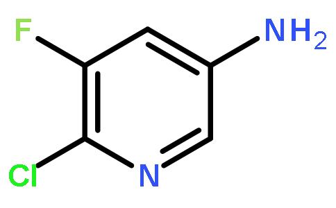 6-氯-5-氟吡啶-3-胺