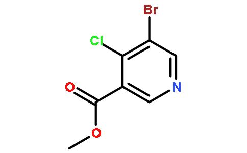 5-溴-4-氯硝基烟酸甲酯