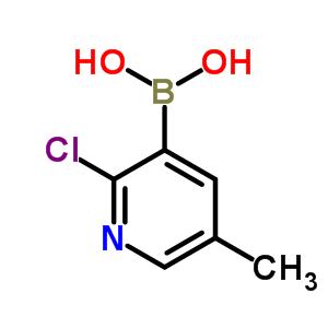 2-氯-5-甲基吡啶-3-硼酸