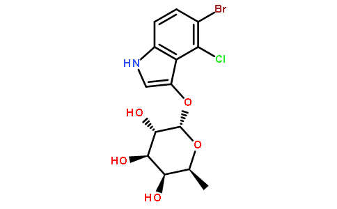 5-溴-4-氯-3-吲哚-alpha-l-吡喃葡萄糖苷