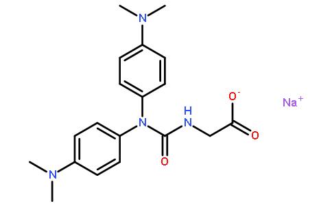 N-(羧甲基氨基羰基)-4,4'-双(二甲氨基)二苯胺钠盐