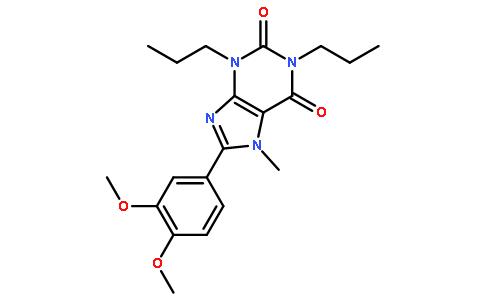 8-(3,4-二甲氧基苯基)-7-甲基-1,3-二丙基-1H-嘌呤-2,6(3h,7h)-二酮