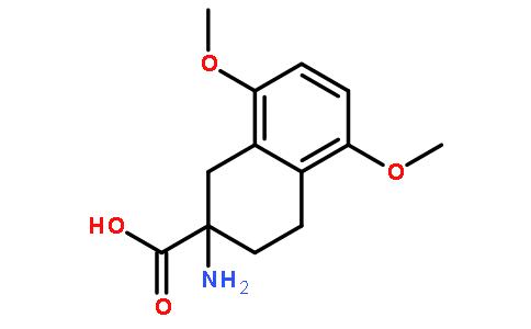 2-氨基-1,2,3,4-四氢-5,8-二甲氧基-2-萘甲酸