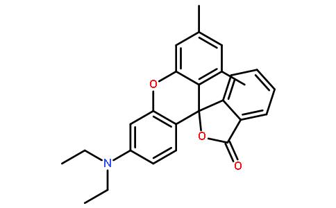 1',3'-二甲基-6'-二乙氨基荧烷