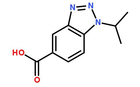 1-异丙基-1H-1,2,3-苯并噻唑-5-羧酸