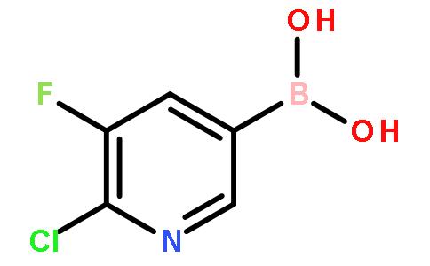 2-氯-3-氟吡啶-5-硼酸