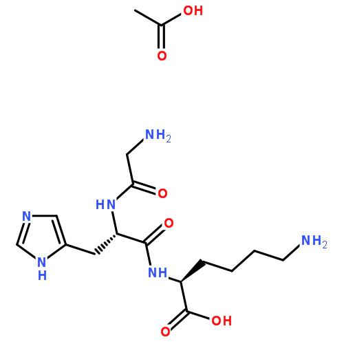 N2-(N-甘氨酰-L-组氨酰)-L-赖氨酸单乙酸盐