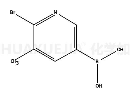 2-溴-3-甲基吡啶-5-硼酸