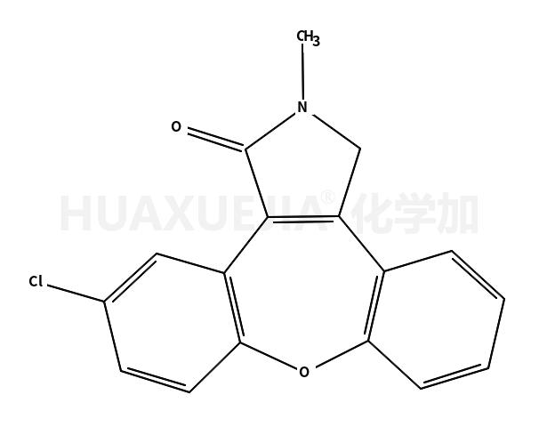 11-氯-2,3-二氢-2-甲基-1H-二苯并[2,3:6,7]氧杂卓并[4,5-c]吡咯-1-酮