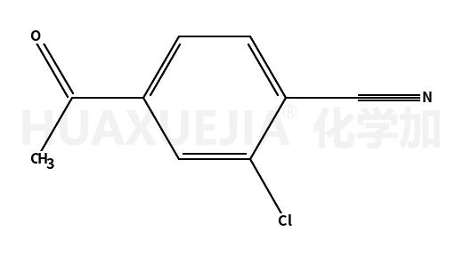 Benzonitrile, 4-acetyl-2-chloro-