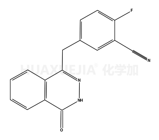 4-[(3-氰基-4-氟苯基)甲基]酞嗪-1(2H)-酮
