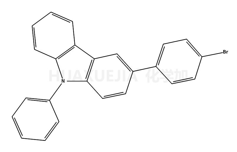 3-(4-溴苯基)-9-苯基咔唑