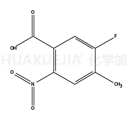 5-氟-4-甲基-2-硝基苯甲酸