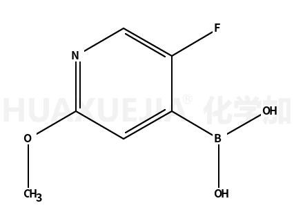 2-甲氧基-5-氟吡啶-4-硼酸