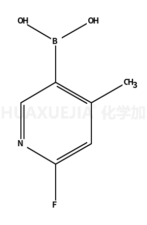 2-氟-4-甲基吡啶-5-硼酸