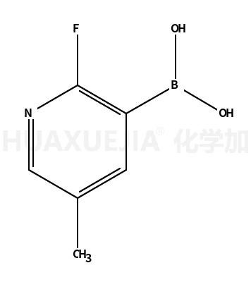 2-氟-5-甲基吡啶-3-硼酸
