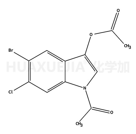 1-Acetyl-5-bromo-6-chloro-1H-indol-3-yl acetate