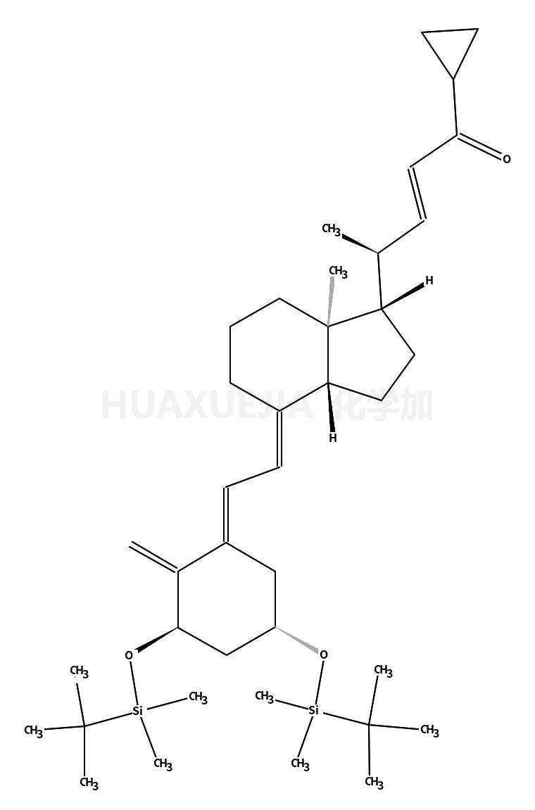 (2E,4R)-4-[(1R,3AS,4E,7AR)-4-[(2E)-2-[(3S,5R)-3,5-双[[(叔丁基)二甲基硅]氧基]-2-亚甲基环己亚基]乙烯基]八氢-7A-甲基-1H-茚-1-基]-1-环丙基-2-戊烯-1-酮