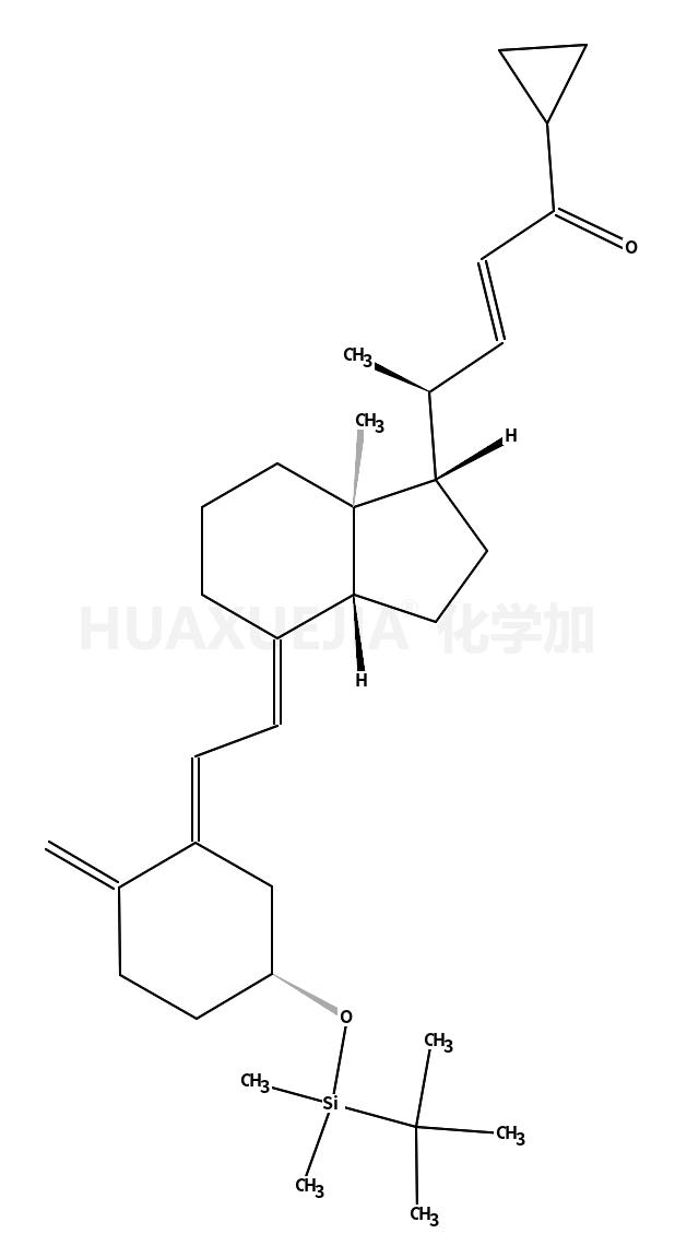 20(R),3(R)-(tert-butyldimethylsilyloxy)-20-(3'-cyclopropyl-3'-oxoprop-1'(E)-enyl)-9,10-secopregna-5(Z),7(E),10(19)-triene